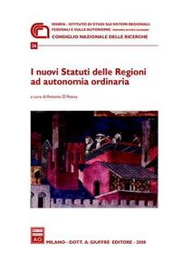 Libro I nuovi statuti delle regioni ad autonomia ordinaria