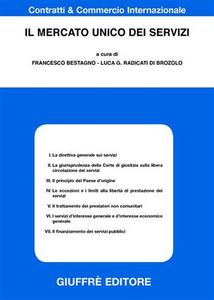 Libro Il mercato unico dei servizi