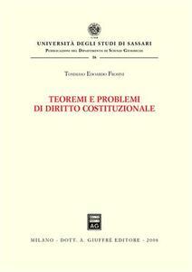 Teoremi e problemi di diritto costituzionale