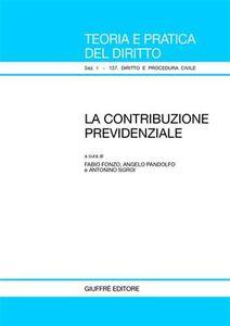 Libro La contribuzione previdenziale
