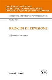 Principi di revisione. Documento 570. Continuità aziendale