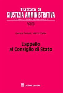Libro L' appello al Consiglio di Stato Gabriele Carlotti
