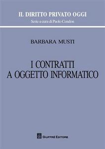 Libro I contratti a oggetto informatico Barbara Musti
