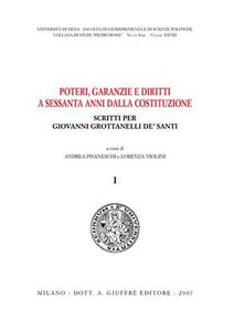 Foto Cover di Poteri, garanzie e diritti a sessanta anni dalla Costituzione. Scritti per Giovanni Grottanelli De' Santi, Libro di  edito da Giuffrè