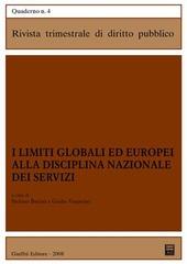 I limiti globali ed europei alla disciplina nazionale dei servizi
