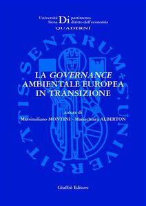 Libro La governance ambientale europea in transizione