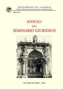Libro Annali del seminario giuridico (2006-2007). Vol. 3