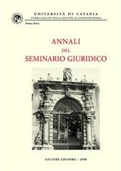 Annali del seminario giuridico (2006-2007). Vol. 3