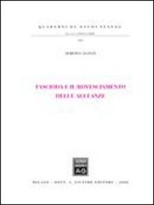 Foto Cover di Fascioda e il rovesciamento delle milizie, Libro di Roberta Alonzi, edito da Giuffrè