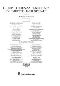 Giurisprudenza annotata di diritto industriale (2007)