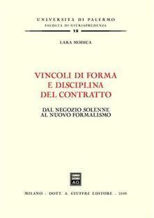 Nordestcaffeisola.it Vincoli di forma e disciplina del contratto. Dal negozio solenne al nuovo formalismo Image