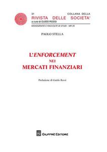 Libro L' enforcement dei mercati finanziari Paolo Stella