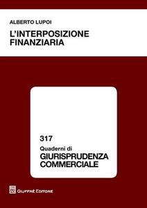 Libro L' interposizione finanziaria Alberto Lupoi