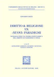 Libro Diritto & religione vs. «nuovi» paradigmi Edoardo Dieni