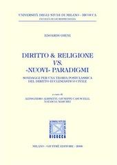 Diritto & religione vs. «nuovi» paradigmi