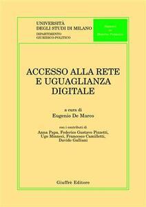 Accesso alla rete e uguaglianza digitale
