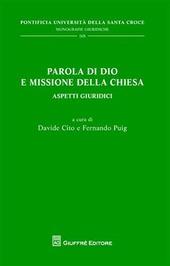Parola di Dio e missione della Chiesa. Aspetti giuridici