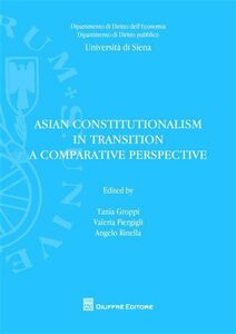 Libro Asian constitutionalism in transition. A comparative perspective