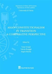 Asian constitutionalism in transition. A comparative perspective