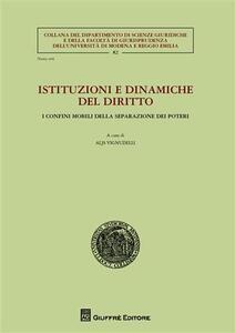 Istituzioni e dinamiche del diritto. I confini mobili della separazione dei poteri