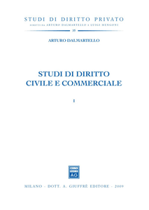Libro Studi di diritto civile e commerciale Arturo Dalmartello