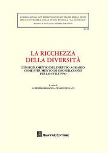 Libro La ricchezza della diversità. Atti della Giornata di studio (Università La Sapienza di Roma, 9 dicembre 2008)