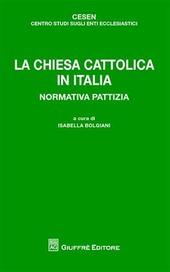La chiesa cattolica in Italia. Normativa pattizia