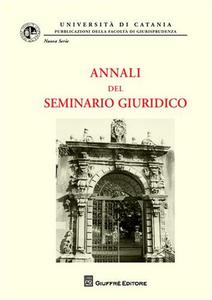 Libro Annali del seminario giuridico (2007-2008). Vol. 9
