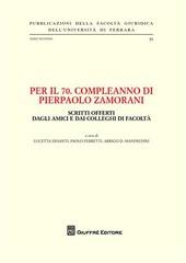 Per il 70º compleanno di Pierpaolo Zamorani