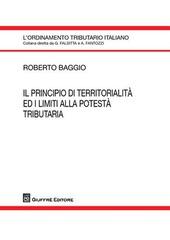 Il principio di territorialità ed i limiti alla potestà tributaria