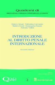 Libro Introduzione al diritto penale internazionale