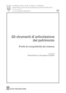 Foto Cover di Gli strumenti di articolazione del patrimonio. Profili di competitività del sistema, Libro di  edito da Giuffrè