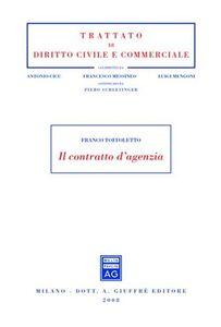 Libro Il contratto d'agenzia Franco Toffoletto