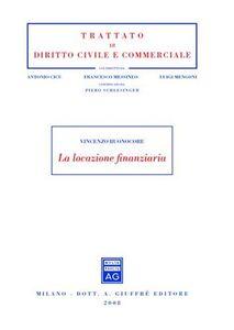 Libro La locazione finanziaria Vincenzo Buonocore