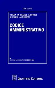 Foto Cover di Codice amministrativo, Libro di  edito da Giuffrè