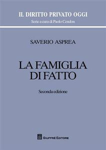 Libro La famiglia di fatto Saverio Asprea