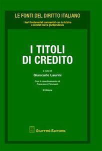 Libro I titoli di credito