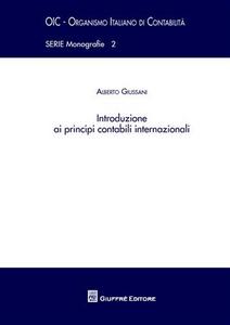 Libro Introduzione ai principi contabili internazionali Alberto Giussani