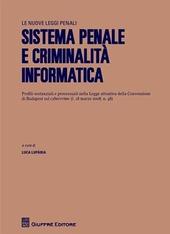 Sistema penale e criminalità informatica