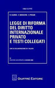 Foto Cover di Legge di riforma del diritto internazionale privato e testi collegati, Libro di AA.VV edito da Giuffrè