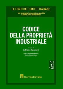 Foto Cover di Codice della proprietà industriale, Libro di  edito da Giuffrè