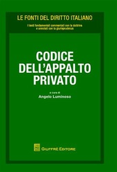 Codice dell'appalto privato