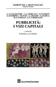 Foto Cover di Pubblicità. I vizi capitali, Libro di  edito da Giuffrè