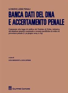 Banca dati del DNA e accertamento penale