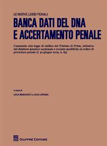 Libro Banca dati del DNA e accertamento penale