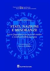 Strati, nazioni e minoranze. La ex Jugoslavia tra revival etnico e condizionalità europea