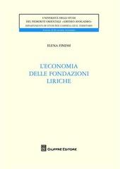 L' economia delle fondazioni liriche