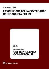 L' evoluzione della governance delle società chiuse