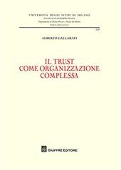 Il trust come organizzazione complessa
