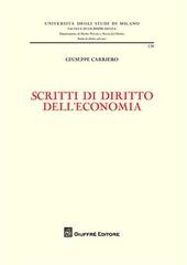 Scritti di diritto dell'economia